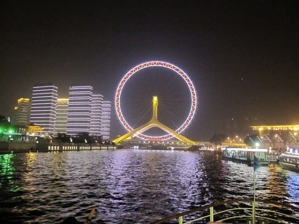 Tianjin Eye by Yeldahtron