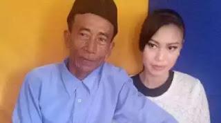 Kakek 57 tahun nikahi gadis 17 tahun