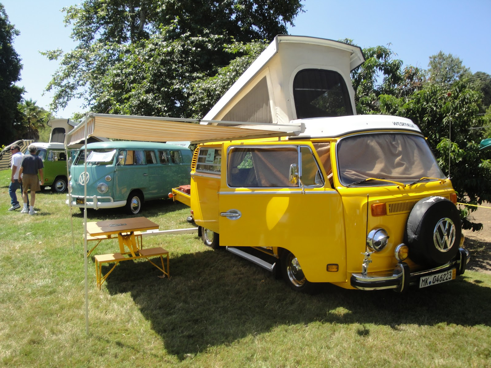 Personalized Autohaus/Wayne Baker Racing: VW Bus - Love, Peace & Camping!