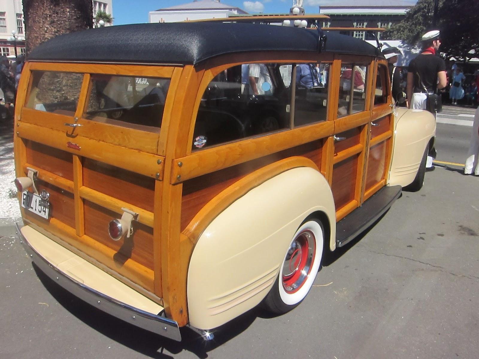 Transpress Nz 1941 Plymouth Deluxe Woody Special 4 Door
