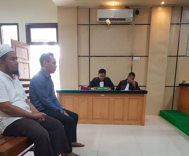 Sidang Perdana Dugaan Korupsi Dana Pengamanan Pilwako Jambi, JPU Disela Kuasa Hukum Terdakwa