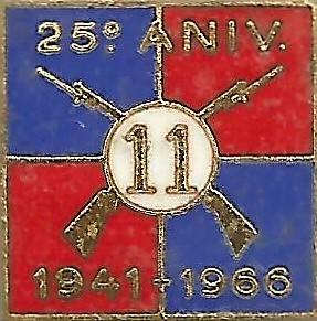 Emblema comemorativo do 25.º aniversário da passagem do