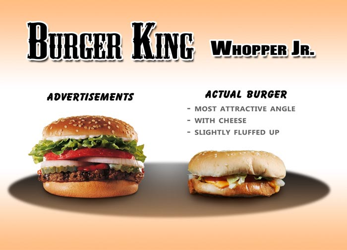 What You Really Get Burger King