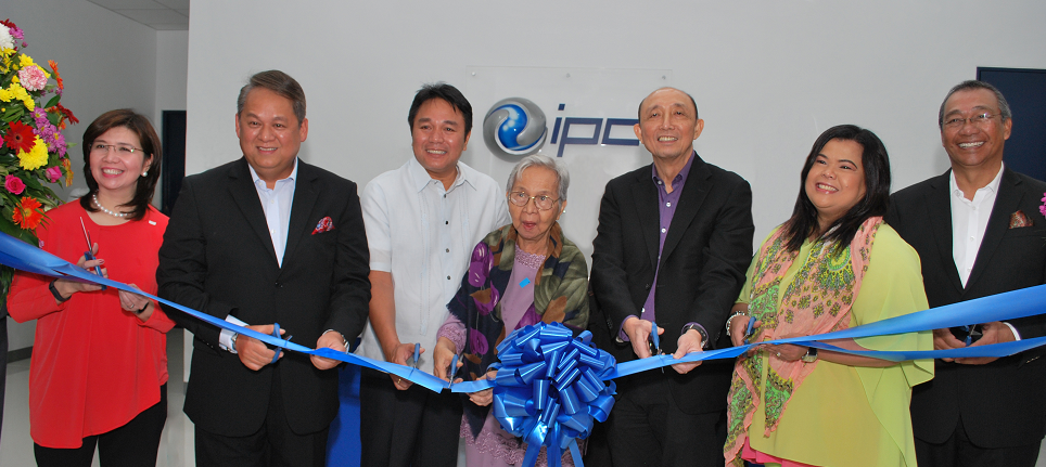 IPC Data Center Paranaque ribbon cutting ceremony