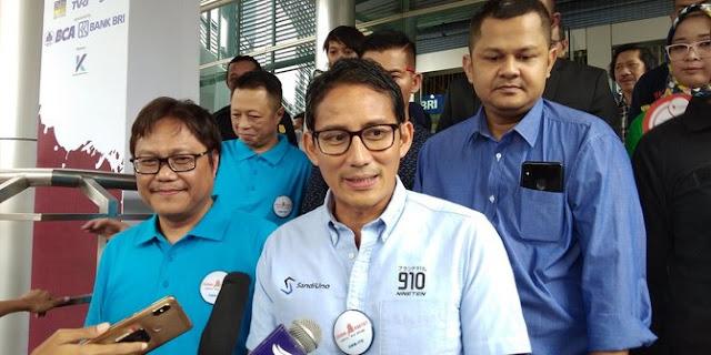 Jika menang, Sandiaga akan lanjutkan program Jokowi yang pro rakyat