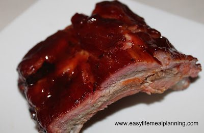 Smoked Warm Honey & Brown Sugar Glazed Baby Back Ribs - Easy Life Meal & Party Planning