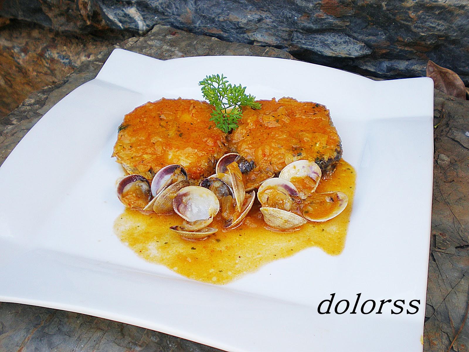 Blog de cuina de la dolorss merluza en salsa de la buena - Cocinar merluza en salsa ...