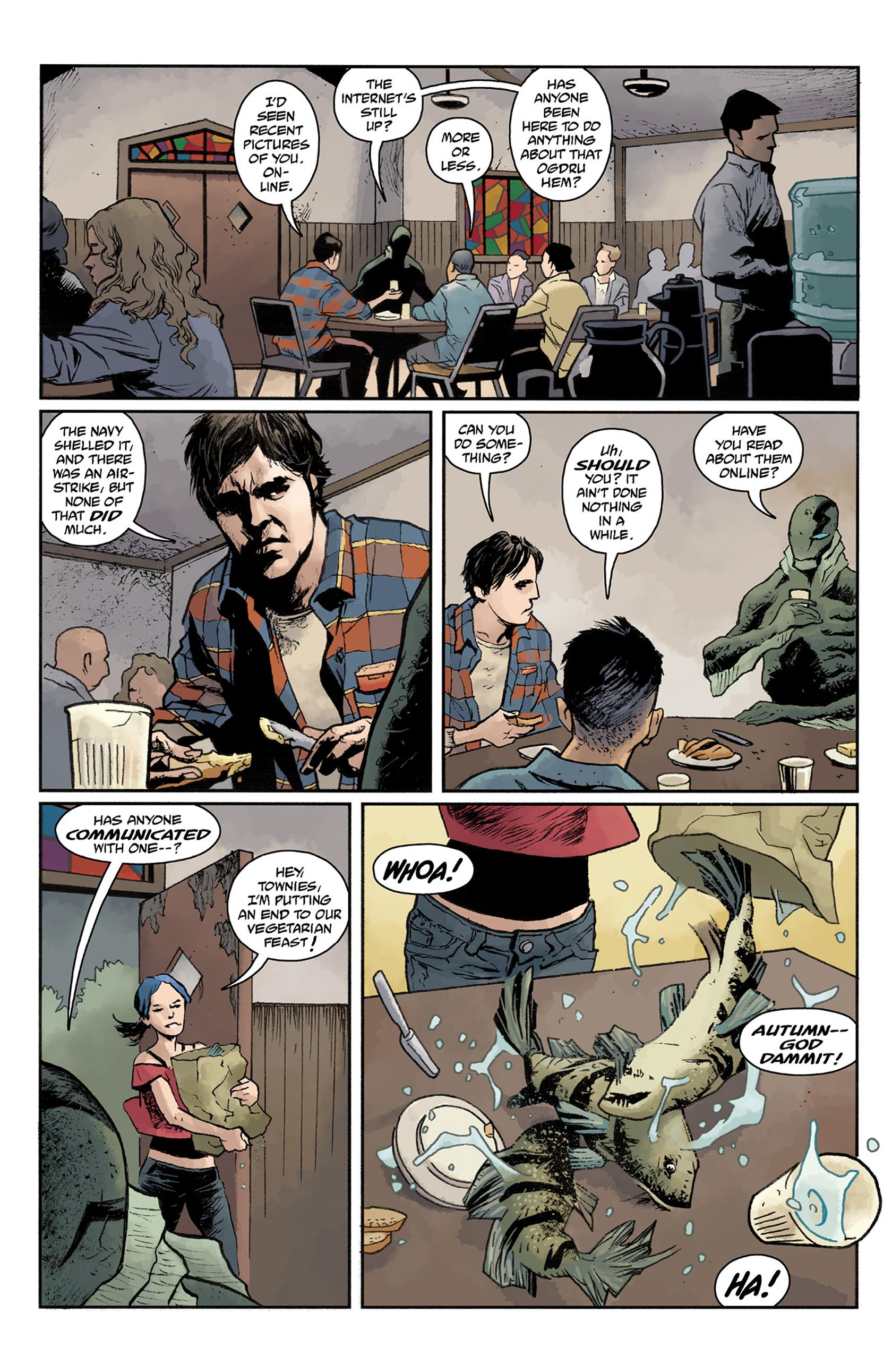 Read online Abe Sapien comic -  Issue #24 - 16