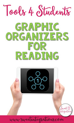 Are there times when you want to use graphic organizers with your students and don't have time to create them? Tools4Students is a great tool that contains 25 different templates for reading. You can choose from Cause/Effect to Story Elements to Fact/Opinion. And, all 25 colorful graphic organizers are excellent for elementary and middle school students.