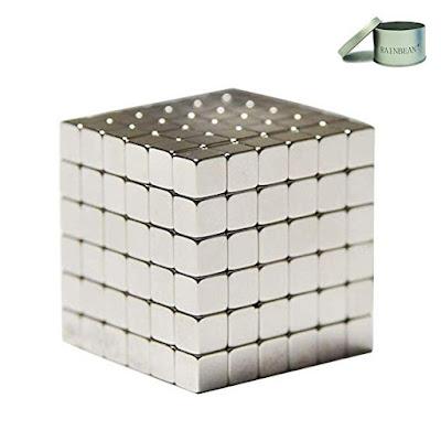 RAINBEAN Magnetic Cube Silver