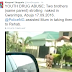 Oh dear! Remember the two naked men strolling in Abuja who attacked a car? They are brothers and were using drugs