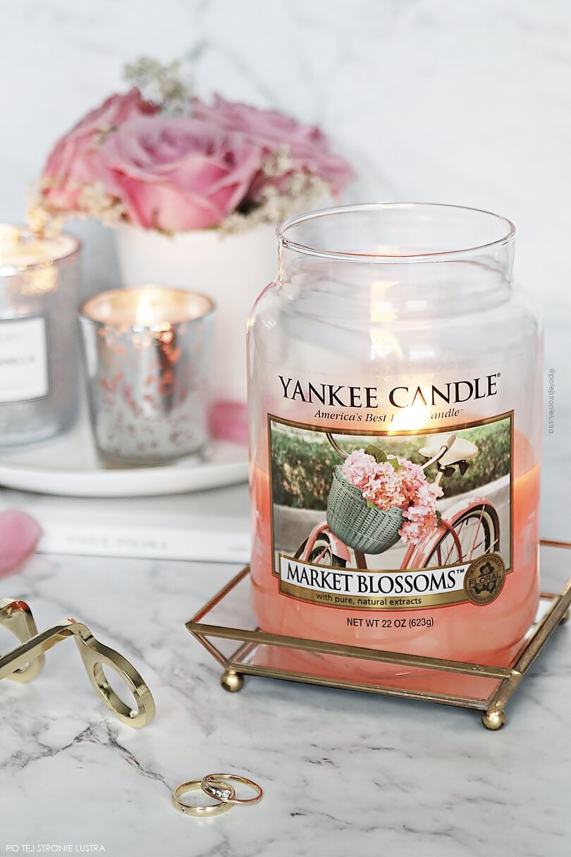 yankee candle market blossoms opinie