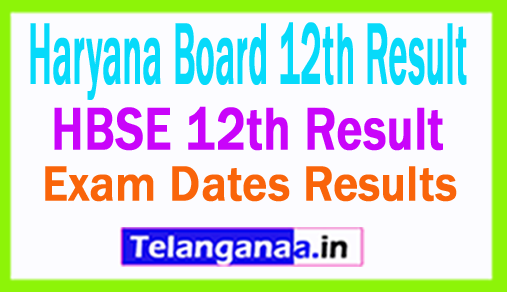 Haryana Board 12th Result 2018 HBSE 12th Result 2018 Name Wise