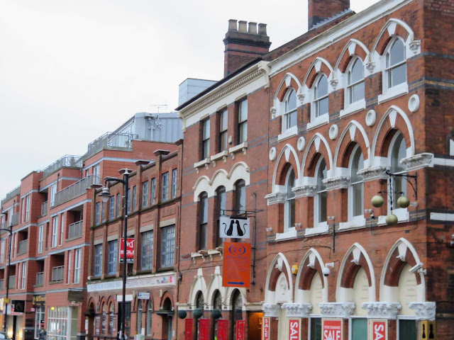 The Jewellery Quarter in Birmingham, England