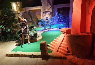 There is some excellent theming at Treetop Adventure Golf