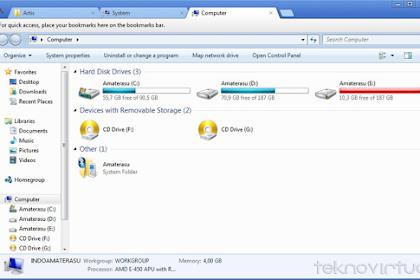 Cara Membuat Multi Tab Windows Xplorer