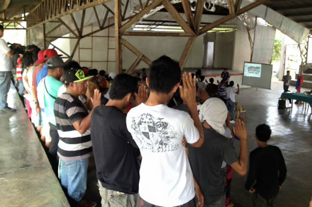 LOOK: 95 Drug Suspects Surrendered at GenSan. SHOCKING!