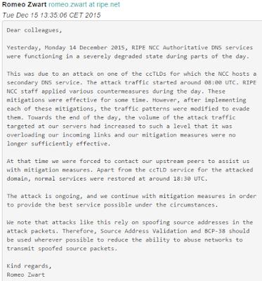 14 Aralık 2015 nic.tr Saldırısı