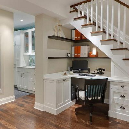 10 ideas to take advantage of the stairwell 8