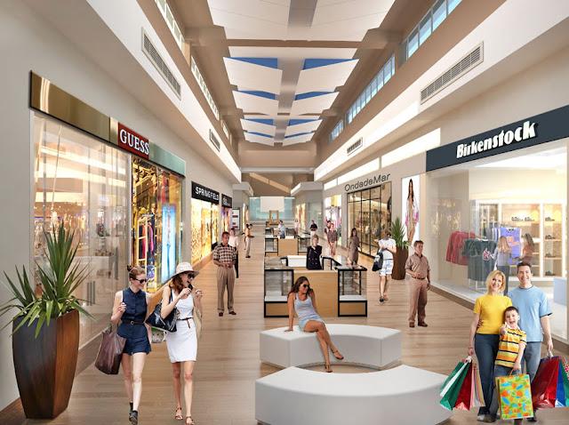 Blue Mall Punta Cana Pasillos