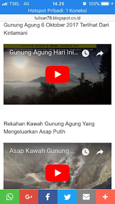 Cara Posting Video Youtube Di Blog Mobile Friendly