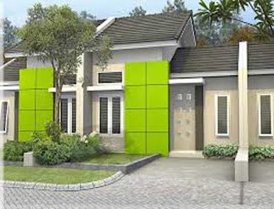 warna cat dinding luar rumah yang cerah 42