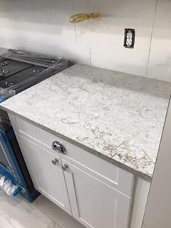 MSI Stone Quartz Counter Top In Gray Lagoon