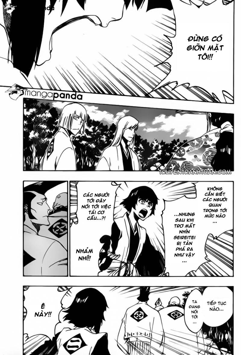 Bleach chapter 517 trang 11
