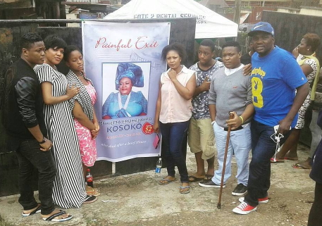 nollywood visit henrietta kosoko home
