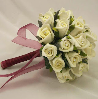 New Arrival Stunning Rose Silk Wedding Bouquet