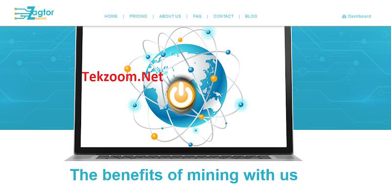 Review Zagtor - Site đào Monero [XMR] - Đầu tư tối thiểu 0.05 BTC - Thanh toán tự động