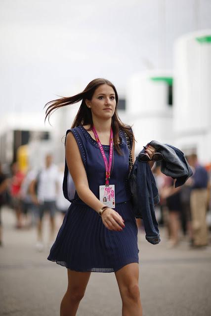 Laura Zinnel novia de Nico Hulkenberg