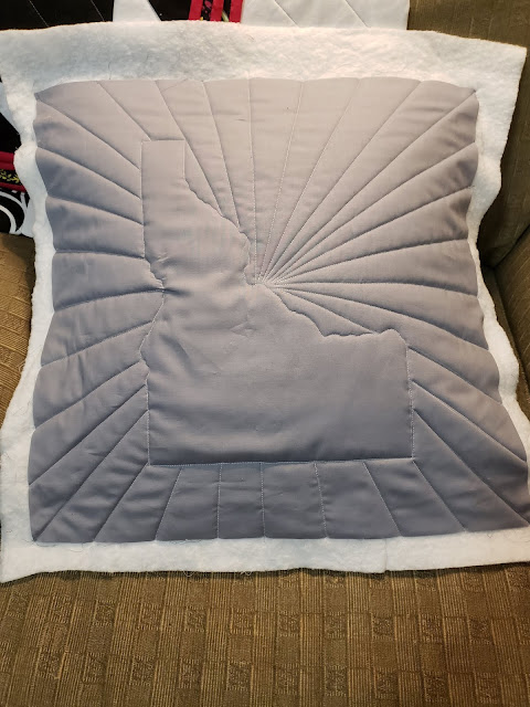 Idaho Pillow in Progress