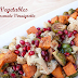 Roasted Veggies with Pomegranate Vinaigrette