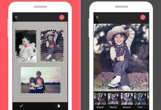 Photomyne Album Scanner app Android iPhone