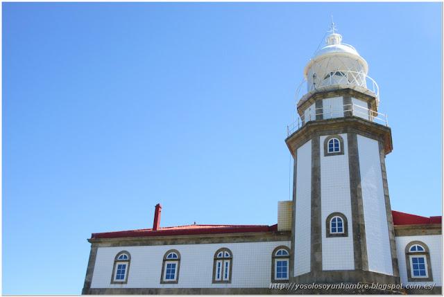 La torre del faro, alicatada hasta el techo