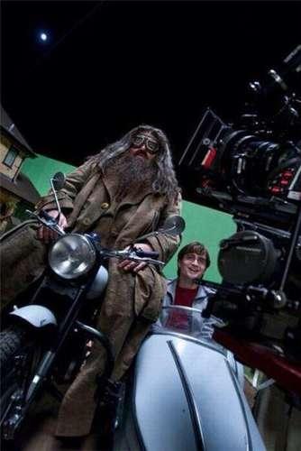 Las fotos detrás de cámara de grandes películas