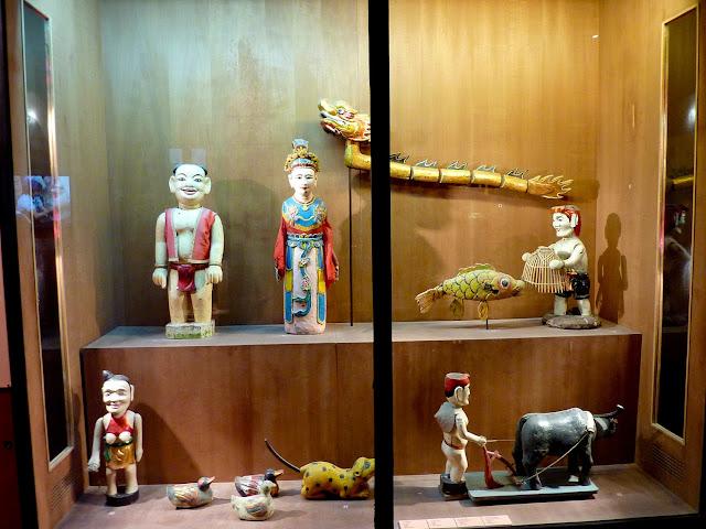 Marionetas de agua del Museo Etnográfico de Hanoi