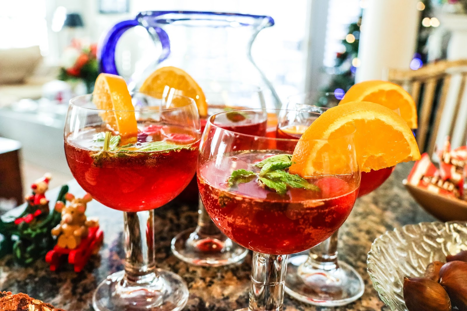 christmas holiday sangria recipe white wine