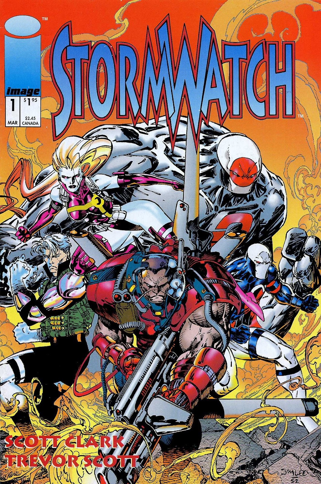 Stormwatch (1993) issue 1 - Page 1