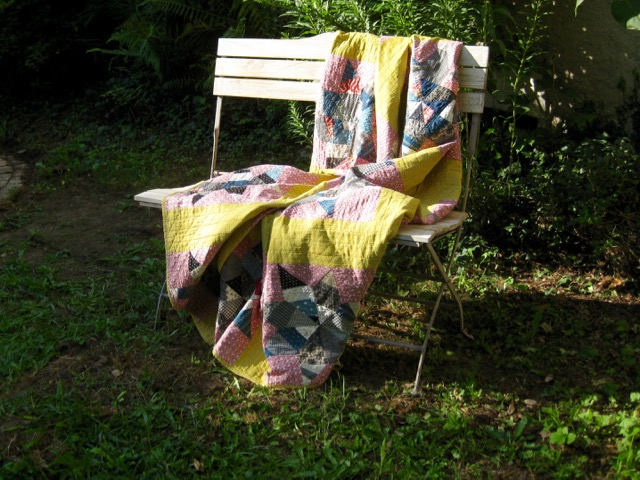 Antique Scrappy Quilt