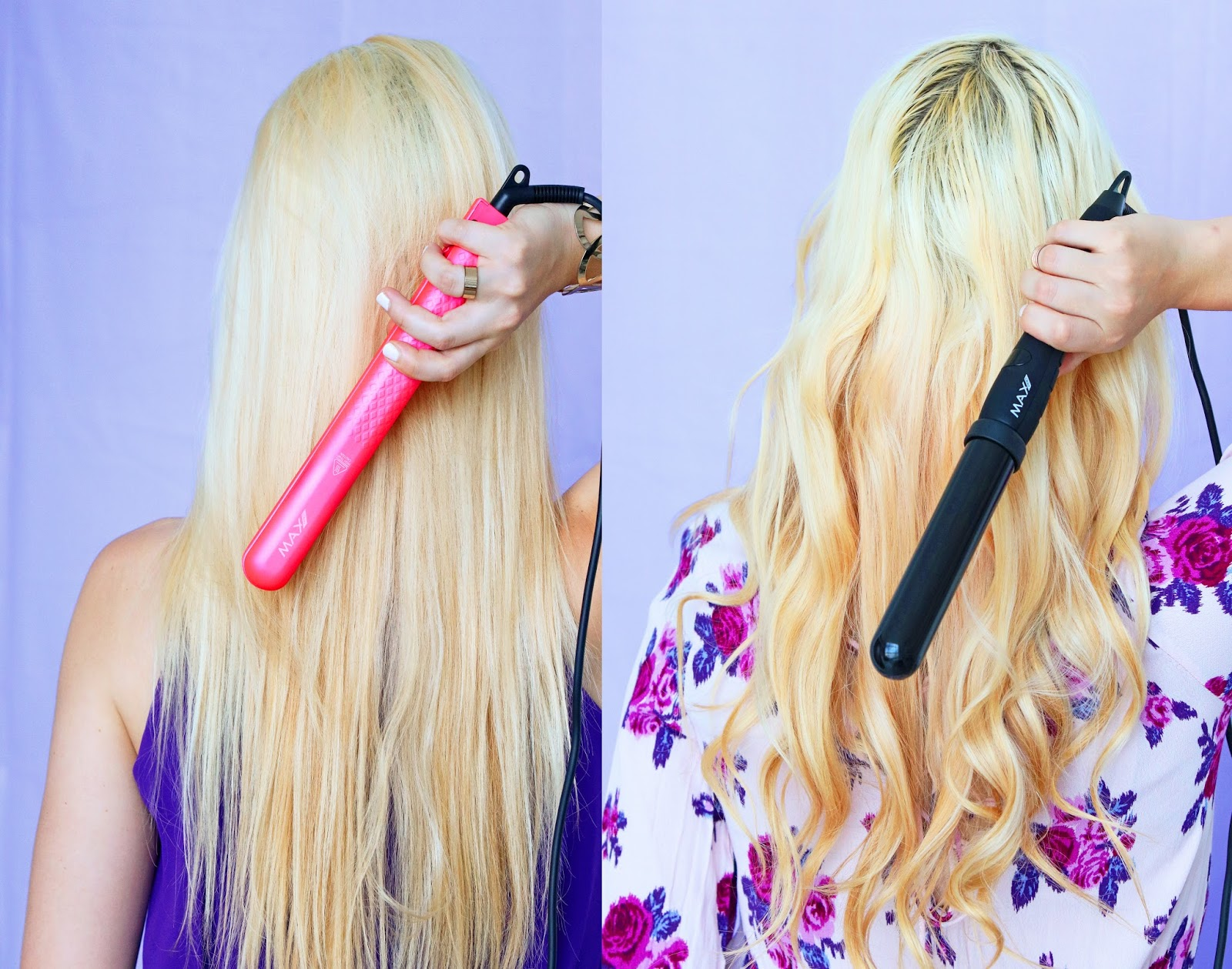 Click through for tips on how to curl and straighten your hair