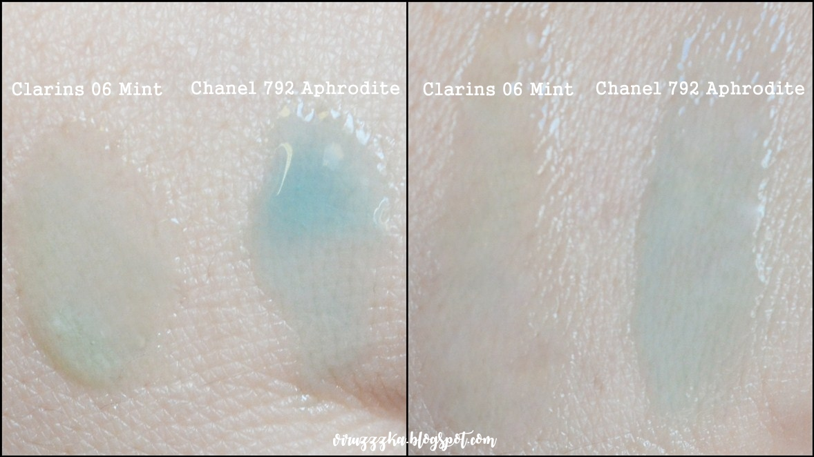 CHANEL 792 Aphrodite Clarins 06 Mint swatch
