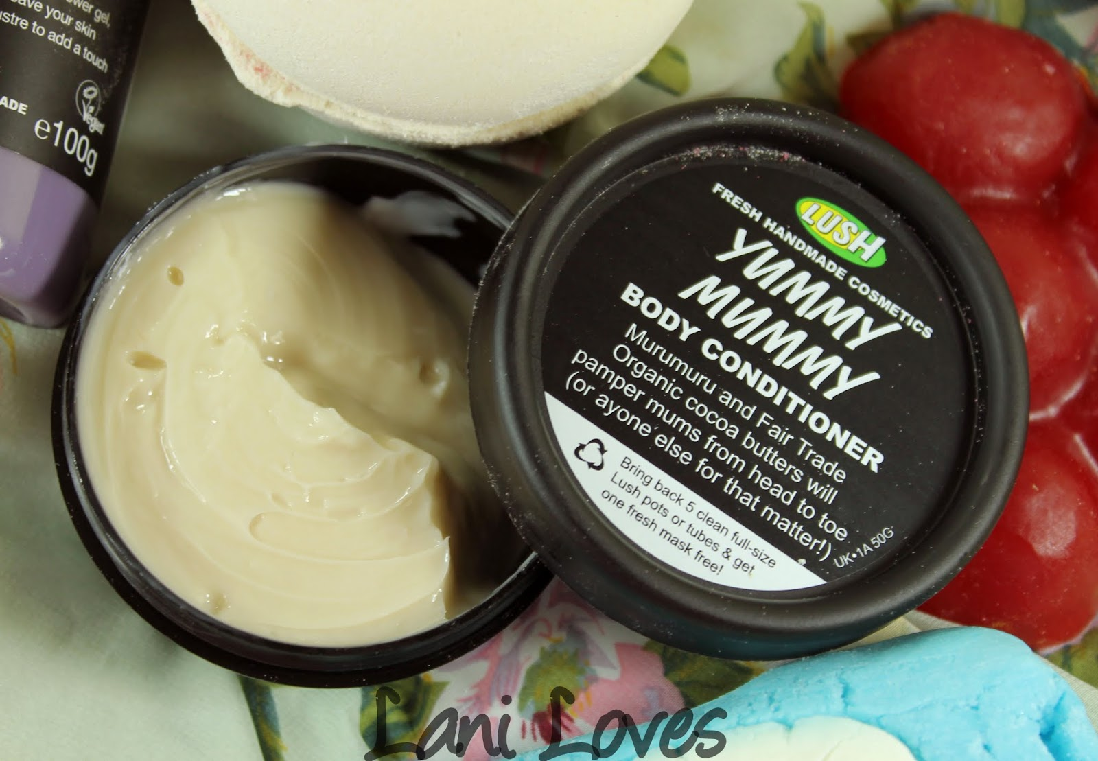 LUSH Mother's Day 2015 Yummy Mummy Body Conditioner