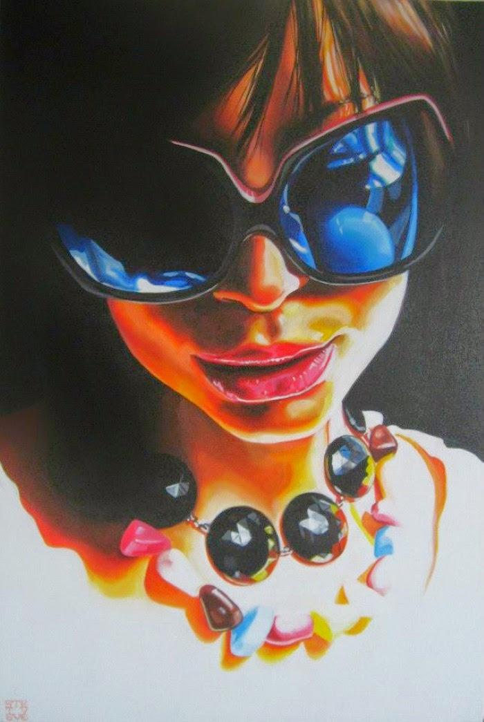 Картины в стиле поп-арт. Steve Smith