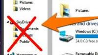 Come disattivare Onedrive in Windows 10 e 8.1 (o nasconderlo)