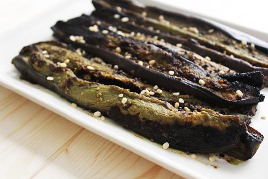 aubergine and miso recipe