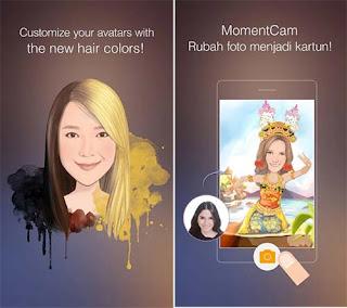 MomentCam - Aplikasi Edit Foto Android