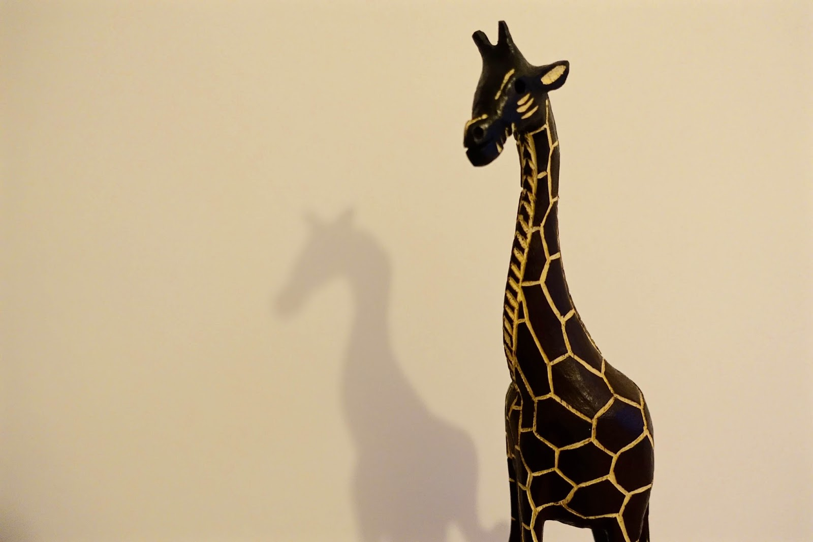 giraffe souvenir from south africa