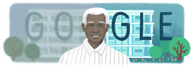Google India Doodle - HBD Dr.GV